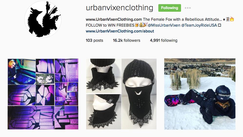 urbanvixen clothing