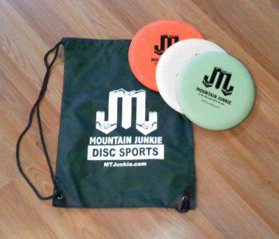 disc bag pack