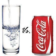 water or coke
