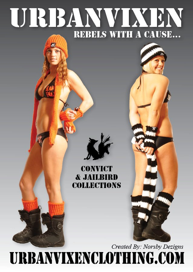 UrbanVixen Clothing – Convict & JailBird Collections