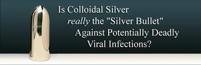 Colloidal Silver – Natural Antibiotic…