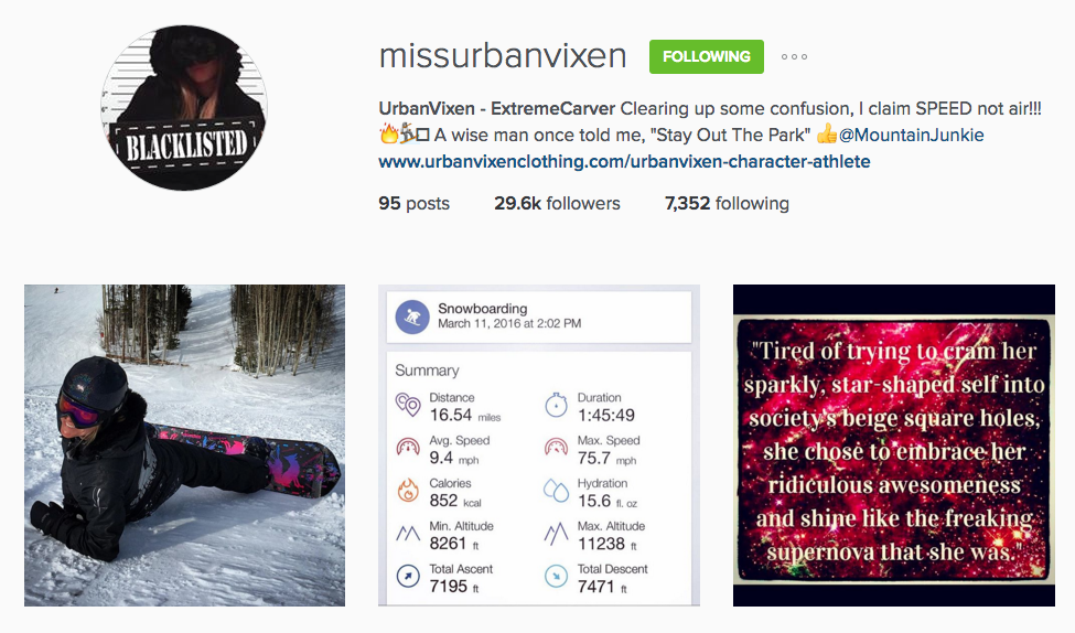 miss urban vixen, instagram, missurbanvixen