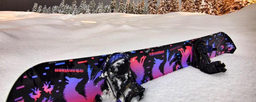 UrbanVixen snowboard
