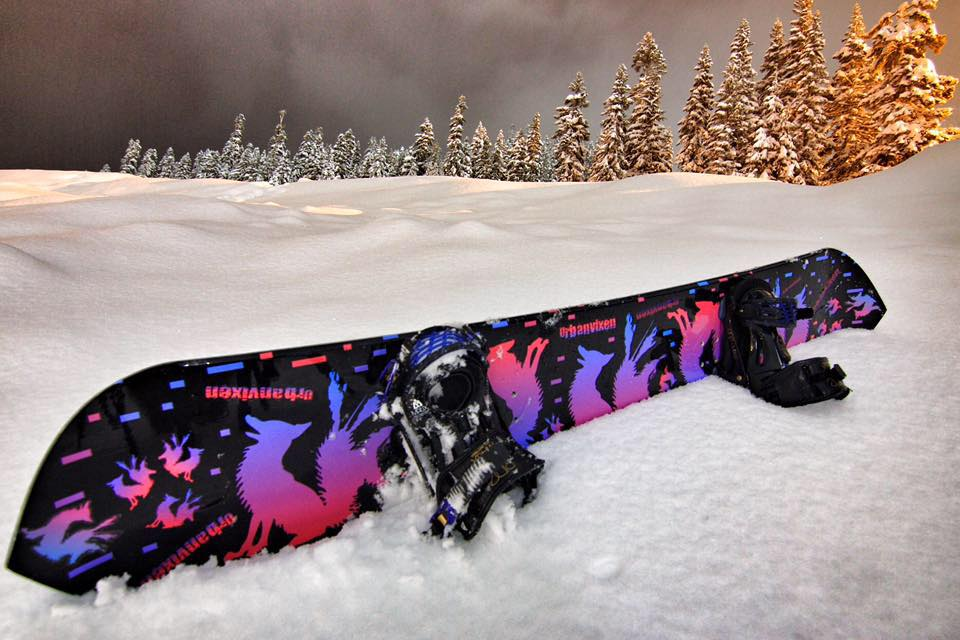 Urban Vixen Mystic Night Snowboard