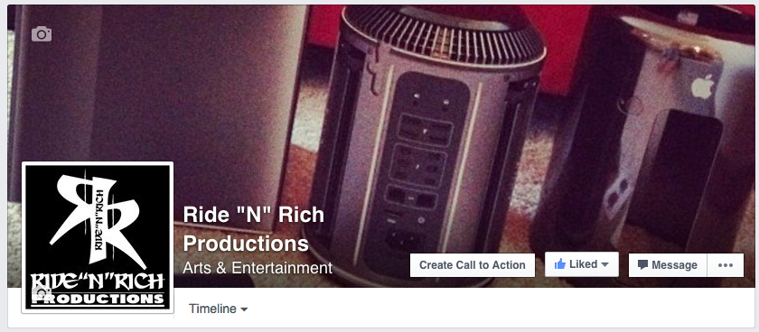 Ride N rich Productions Facebook